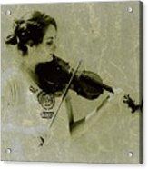 Her Music Acrylic Print
