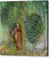 Her Secret Garden Acrylic Print