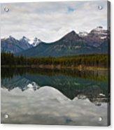 Herbert Lake Reflections  Acrylic Print