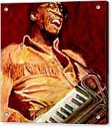 Herbie Hancock Rockit Acrylic Print