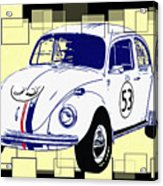 Herbie The Love Bug Acrylic Print