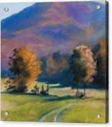 Herbstfarben Bei Aschau Acrylic Print