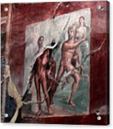 Herculaneum Fresco Acrylic Print