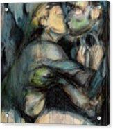 Hercule And Omphale Acrylic Print