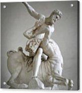 Hercules And Centaur Sculpture Acrylic Print