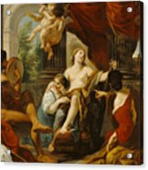 Hercules And Omphale Acrylic Print