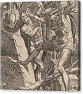 Hercules Killing Cacus Acrylic Print
