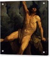 Hercules On The Pyre 1617 Acrylic Print