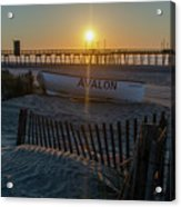 Here Comes The Sun - Avalon New Jersey Acrylic Print