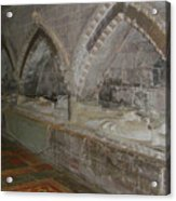 Hereford Cathedral Crypt Acrylic Print