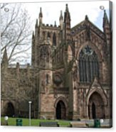 Hereford Cathedral  England Acrylic Print