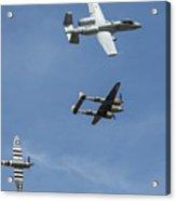 Heritage Flight Break Acrylic Print