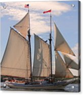 Heritage Full Sail Acrylic Print