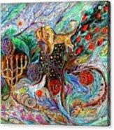 Heritage Series #1. Lion Of Judah Acrylic Print