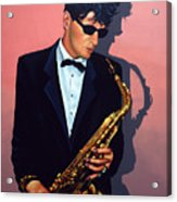Herman Brood Acrylic Print