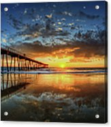 Hermosa Beach Acrylic Print by Neil Kremer