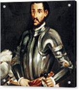 Hernando De Soto Acrylic Print