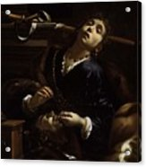 Herodias With The Head  Acrylic Print