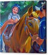Heroes On Horseback Acrylic Print