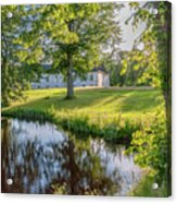 Herrevads Kloster By The Riverside Acrylic Print
