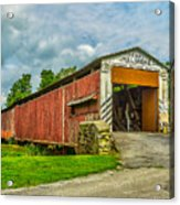 Herr's Mill Bridge - Pa Acrylic Print