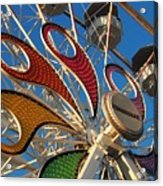 Hershey Ferris Wheel Of Color Acrylic Print