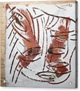 Hey - Tile Acrylic Print