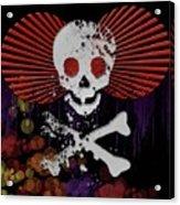 Hey Bone Head Acrylic Print