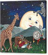 Hey Diddle Diddle Acrylic Print