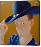 Hey Dude Acrylic Print by Ron Sylvia