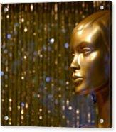 Hey Gold Looking Acrylic Print