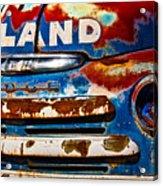 Hi-land Acrylic Print