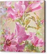 Hibiscus Impression Acrylic Print