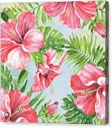 Hibiscus Paradise-jp3965 Acrylic Print