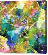 Hibiscus Trumpets Acrylic Print
