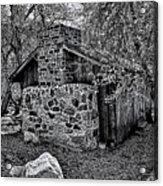 Hidden Cabin Acrylic Print