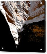 Hidden Canyon Acrylic Print