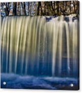 Hidden Falls Morning Glow Acrylic Print