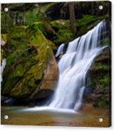 Hidden Hocking Hills Waterfall Ohio Acrylic Print