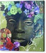 Hidden Hydrangea Acrylic Print