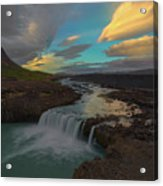 Hidden Icelandic Waterfall Acrylic Print