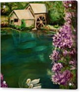 Hidden Lake Acrylic Print
