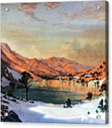 Hidden Lake Western United States Acrylic Print