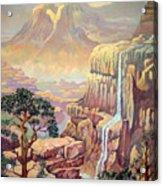 Hidden Southwest Geology  Acrylic Print