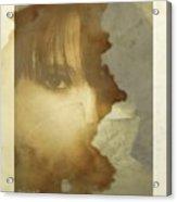 Hiding Acrylic Print