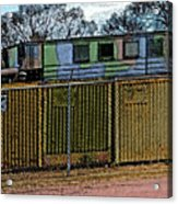 Hiding The Trucks Acrylic Print