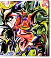 Hieary Acrylic Print