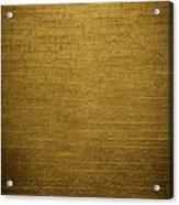 Hieroglyph Vi Acrylic Print