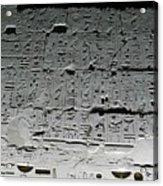 Hieroglyphics Acrylic Print