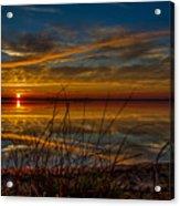 Higgins Lake The Perfect Sunset Acrylic Print